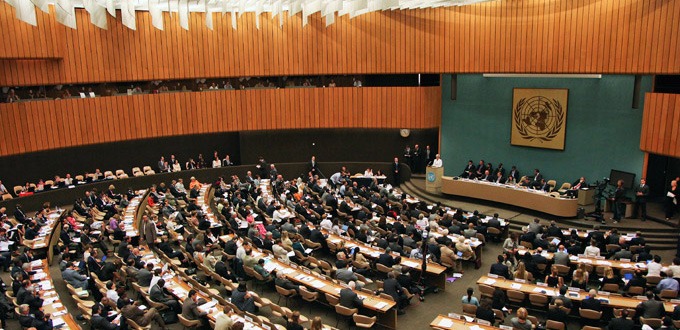 ECOSOC - Geneva - July 6th 2009 - Opening general view
