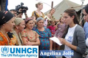 Angelina Jolie in Russia